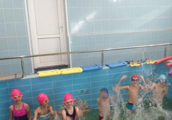 Торжественное открытие бассейна после ремонта