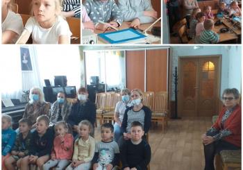 Воспитанники совершили онлайн-экскурсию на тренировку и поделились своим впечатлением