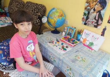 Обучение дошкольного отделения и школьников в апреле