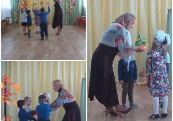 """""""Праздник Осени"""" по сказке """"Репка"""" для воспитанников 3 группы"""