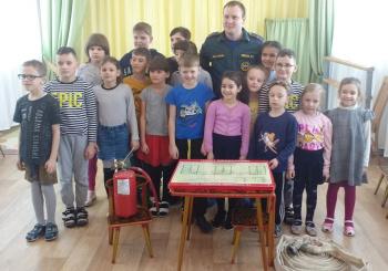 Урок по пожарной безопасности для учеников начальной школы