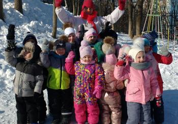 Праздник для воспитанников «Мороз-красный нос»
