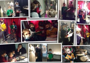 Ученики начальной школы посетили выставку «Мода Серебряного века»