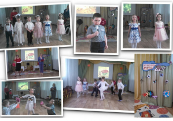 Утренник «Музыкальное кафе» для дошкольников 3 и 8 групп