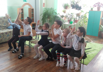 18.03.2021 годау учащихся 1 класса прошло мероприятие «Прощание с Букварём»