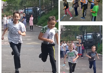 Веселые спортивные мини-соревнования прошли во 2 и 3 классах